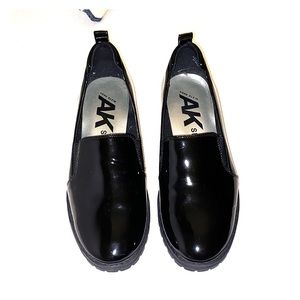 Anne Klein Sport Loafers (Black Patent)